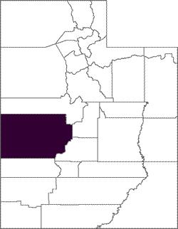 Millard County Map