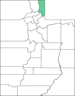 Rich County Map