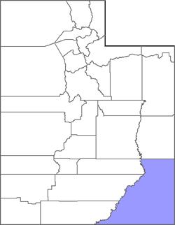 San Juan County Map