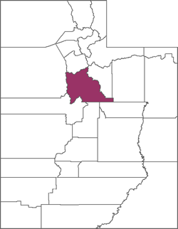 Utah County Map