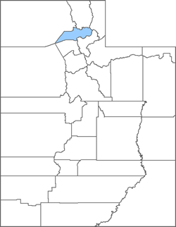 Weber County Map